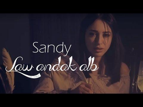 """ساندي تطرح الأغنية المصورة """"لو عندك قلب"""" علي طريقة الـlyrics video"""