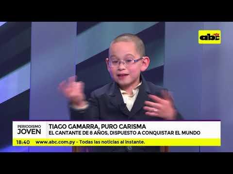 Tiago Gamarra, puro carisma en