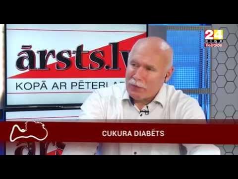 """Veselības ministre Anda Čakša TV24 """"Ārsts.lv ar Pēteri Apini"""""""