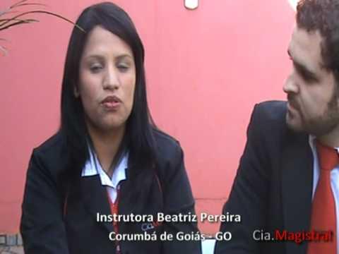 Cia.Magistral - Depoimento Beatriz Pereira - Corumba de Goias - GO