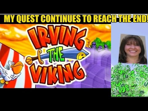 QUEST CONTINUES! IRVING THE VIKING SLOT MACHINE