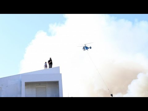 Ηράκλειο: Μεγάλη φωτιά στο Πανεπιστήμιο Κρήτης – Σώοι 69 φοιτητές…