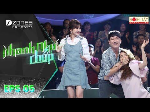 Nhanh Như Chớp | Tập 5 Full: Trường Giang - Hari Won Ra Tay Ngăn Cản Thảm Hoạ Giọng Hát Của Puka - Thời lượng: 54:04.