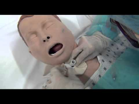 procedura medicazione del tracheostoma