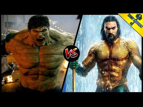 Mcu Hulk Vs Dceu Aquaman | Who Would Win? (featuring Comic Books Vs The World)