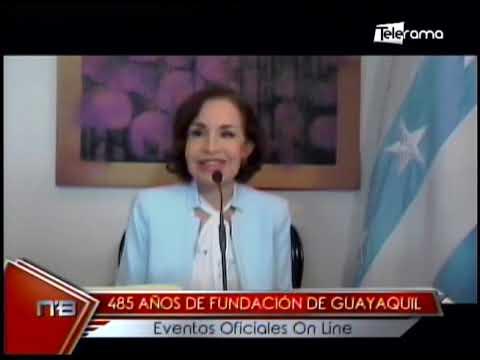 485 años de fundación de Guayaquil eventos oficiales on line