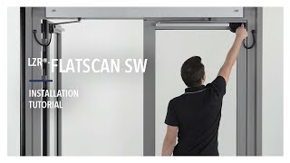 Learn how to easily install a Flatscan SW on a double swing door. The Flatscan SW is a safety sensor based on laser technology.