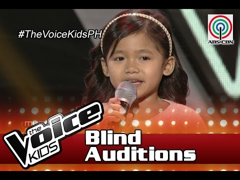 "The Voice Kids Philippines 2016 Blind Auditions: ""Music And Me"" By Claire"