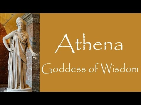 an examination of the greek goddess athena