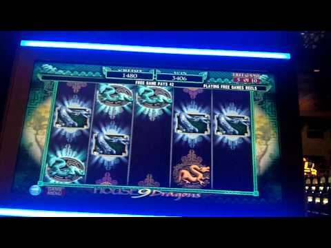 Saguaro / House of 9 Dragons Slot Bonus - IGT