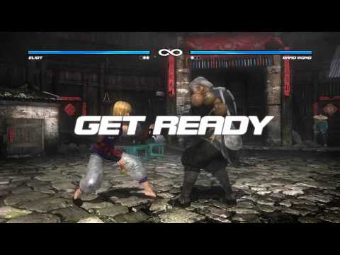 Dead or Alive 5 Gameplay (Brad Wong vs. Eliot)