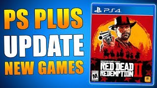 𝗣𝗦 𝗣𝗟𝗨𝗦 Update - 𝗙𝗥𝗘𝗘 Games & Loot - 𝗡𝗘𝗪 𝗥𝗘𝗟𝗘𝗔𝗦𝗘𝗦 on 𝗣𝗦𝟰 (Playstation News)