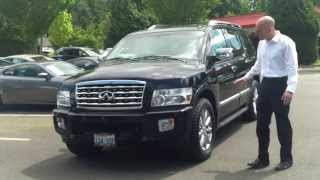 2008 Infiniti QX56 Review - Black, Gorgeous, Incredible To Drive!