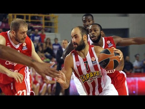 Highlights: RS Round 1, Olympiacos Piraeus 76-61 Cedevita Zagreb