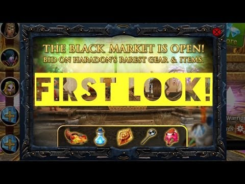 Order & Chaos Online: FIRST LOOK! BLACK MARKET