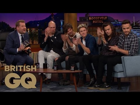 One Direction Interview on The Late Late Show | British GQ