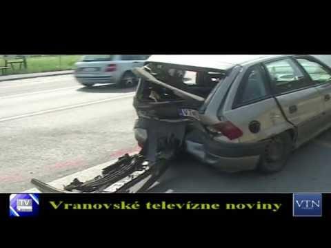 Bystré: pri dopravnej nehode sa zrazili dve autá