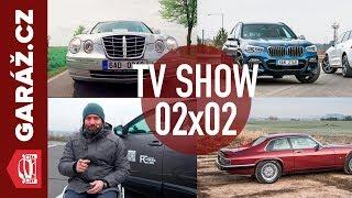 Video GARÁŽ.cz 02x02 - Jaguar XJS, Bmw X3 M40i vs. Volvo XC 60, Kia Opirus a Auto pro handicapované MP3, 3GP, MP4, WEBM, AVI, FLV Juni 2018