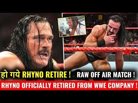 Rhyno RETIRED From WWE ! SHOCKING Retirement Speech ! WWE Smackdown 4 December 2018 Highlgihts !