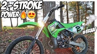 4. NEW KX100 TWO STROKE SUPERMINI IS INSANELY FAST!!