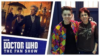 Christel Dee is joined by showrunner Steven Moffat, finale director extraordinaire Rachel Talalay and also the original Cybermen Designer Alexandra Tynan to ...