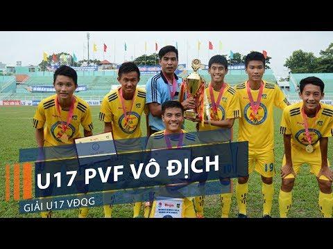 U17 PVF vô địch giải U17 VĐQG | VTC1 - Thời lượng: 2 phút, 13 giây.