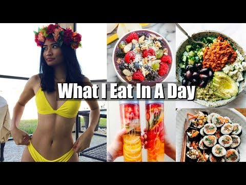 What I Eat In A Day ( healthy + non vegan)