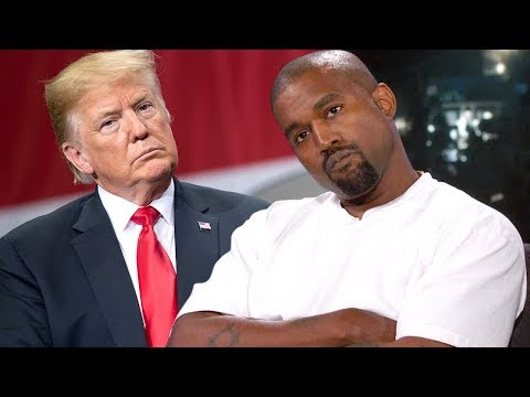 Kanye West Speechless After Jimmy Kimmel Questions His Donald Trump Support