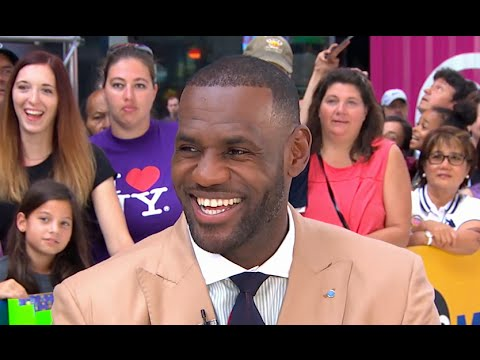 LeBron James Highlights His Work Off The Court