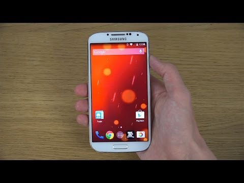 Samsung Galaxy S4 Android 4.4.4 KitKat – Review (4K)