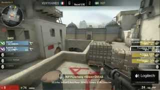 DreamHack Winter 2012 - Grand Final NiP vs VeryGames - map 1