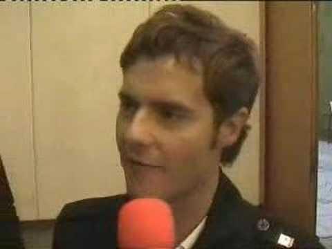 Switzerland 2008: Interview with Paolo Meneguzzi