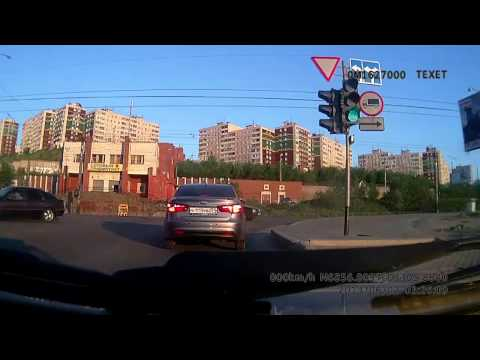 Авария в Мурманске