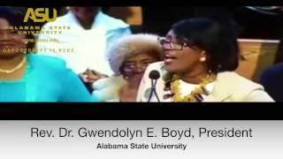 ASU's President Gwendolyn E. Boyd Speaks at King Center