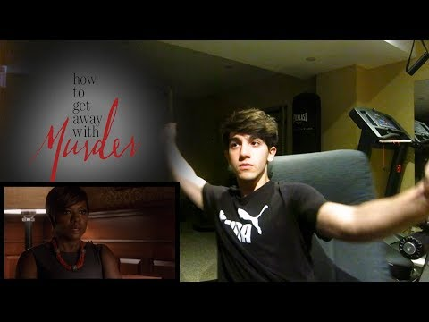 """How to Get Away With Murder Season 1 Episode 8 REACTION - 1x08 """"He Has a Wife"""" Reaction PART 1"""