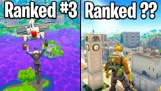 RANKING EVERY LOCATION IN FORTNITE FROM WORST TO BEST