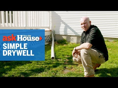 How to Build a Simple Dry Well | Ask This Old House
