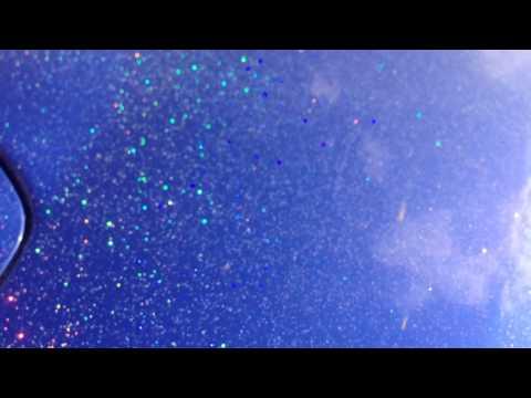 Flakes paint  Subaru Legacy (видео)