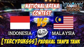 Video WOW !!! Malaysia Keteteran Lawan Indonesia Padahal Tanpa Tank National Arena Contest 14102017 MP3, 3GP, MP4, WEBM, AVI, FLV Oktober 2017