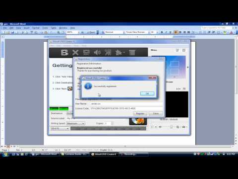 How to get Xilisoft DVD creator 6 (software key included!)