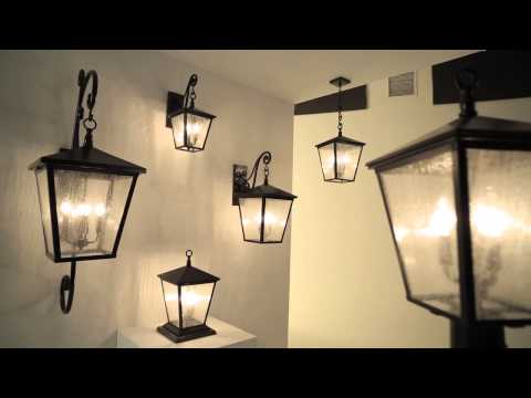 Video for Trellis Regency Bronze Medium Three-Light LED Outdoor Wall Light