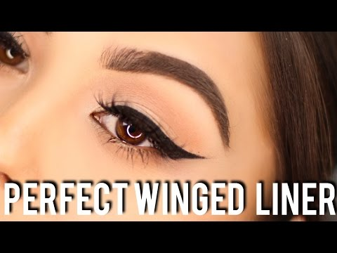 TUTORIAL: HOW TO SLAY WINGED EYELINER | 4 EASY STEPS TO GET PERFECT WINGS EVERY TIME!