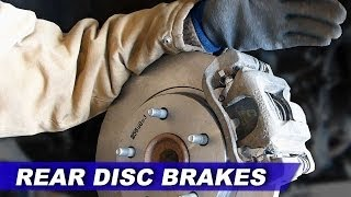Replacing the rear brake pads and rotors on my 2010 Dodge Grand Caravan.  I conducted this repair without the Chrysler Special Tool 8807 used to rotate the caliper piston back into the caliper.  This video may not demonstrate proper safety or technique.  It is up to you to ensure the safety of yourself and your vehicle.