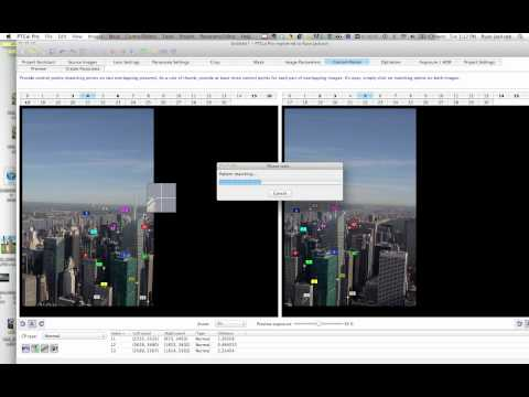 Stitching 180-degree Panoramas – PTgui Pro – Example 1