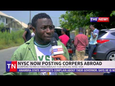 NYSC Now Post Corpers Abroad To Serve, DG Of NYSC Explains | The News | Pulse TV