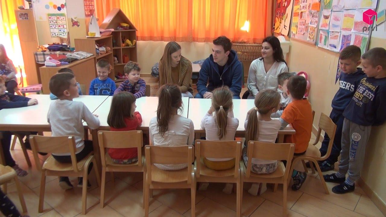 Studenti dentalne medicine posjetili Ustanovu Dječji vrtići Mostar