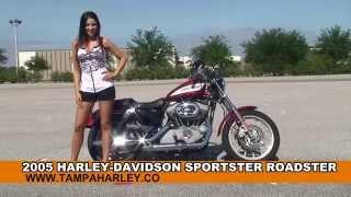 5. Used 2005 Harley Davidson Sportster Roadster Motorcycles for sale - Destin, FL