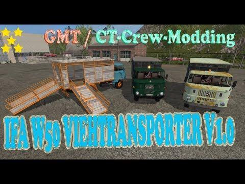 IFA W50 Viehtransporter v1.0