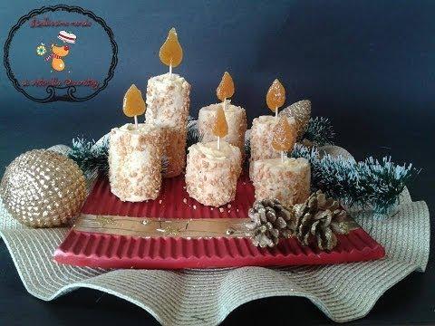 idee per natale: candele di pasta frolla - ricetta facile
