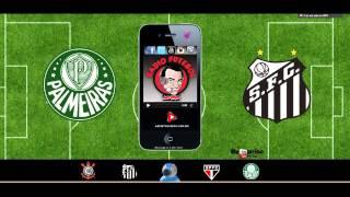 Rádio Futebol Ao Vivo   Palmeiras 0 Santos 0   Jarbas Duarte